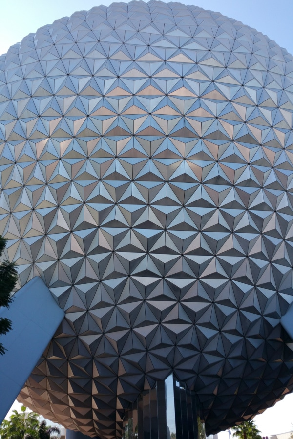 sphere at epcot