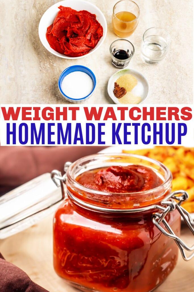 weight watchers homemade ketchup