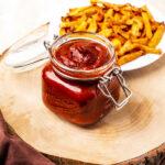 jar of sugar free ketchup