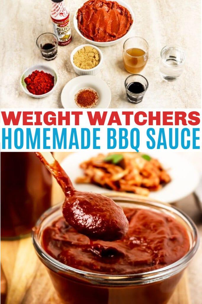 Weight Watchers BBQ sauce
