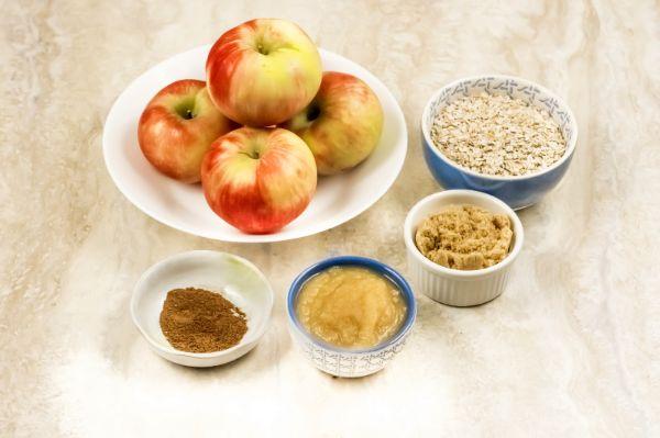 ingredients for Weight Watchers apple crisp