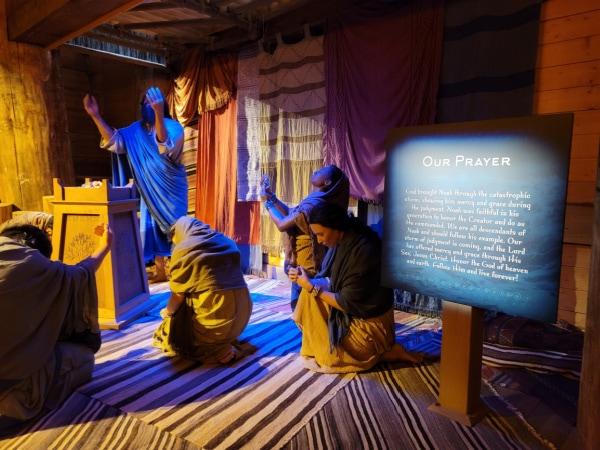 scene inside the Ark in Kentucky