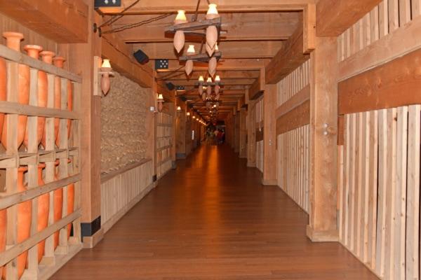 inside the Ark Encounter museum