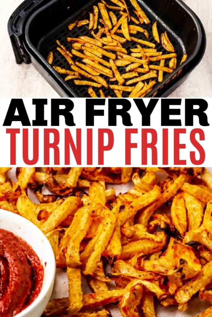 Air Fryer Turnip Fries