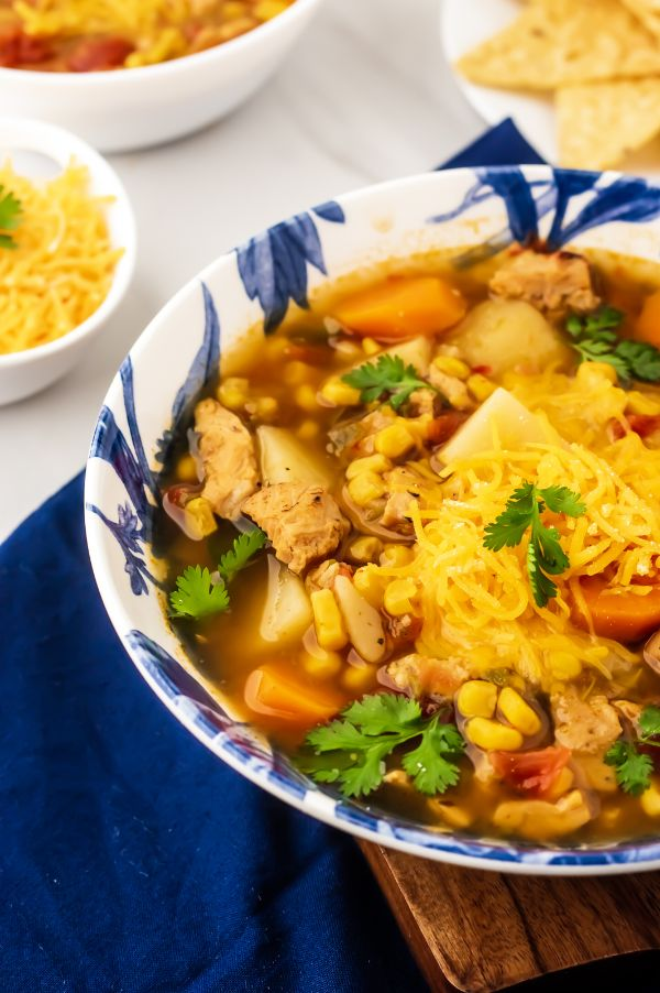 chicken stew made in slow cooker