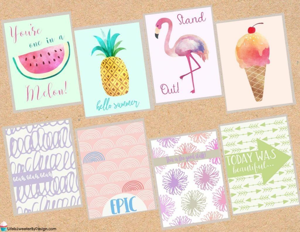 free pocket cards for scrapbooking