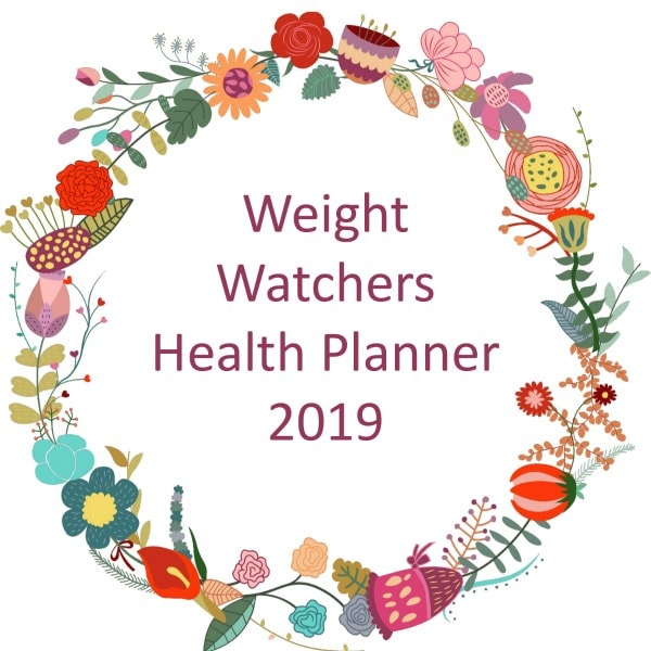 Weight Watchers Health Planner for 2019