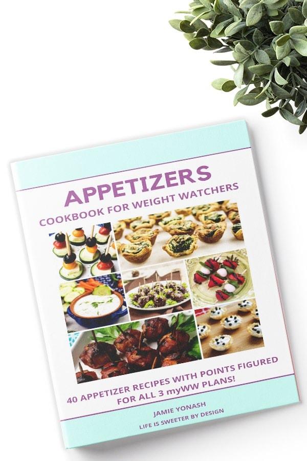Appetizer Cookbook for Weight Watchers
